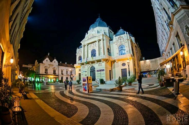 The National Theatre of Pécs is the main theatre of Pécs, Hungary.