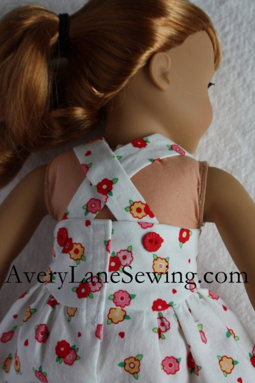 Welcome back for Day 4 of the Doll Days! Modern Jumper Sew Along -doll clothes sewing patterns for American Girl Dolls and other 18″ dolls. 1st day go here 2nd day go here 3rd Day go here It's all about the back in this …
