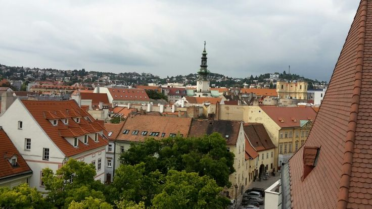 Bratislava the old town. It is very beautiful  and  easy. I was in Slovakia two years ago.