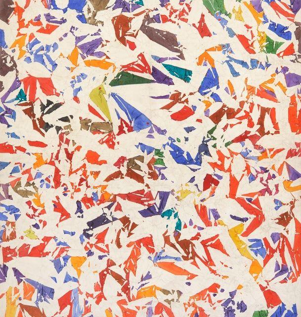 Simon Hantaï / 'Blancs,' 1973-1974, Paul Kasmin Gallery