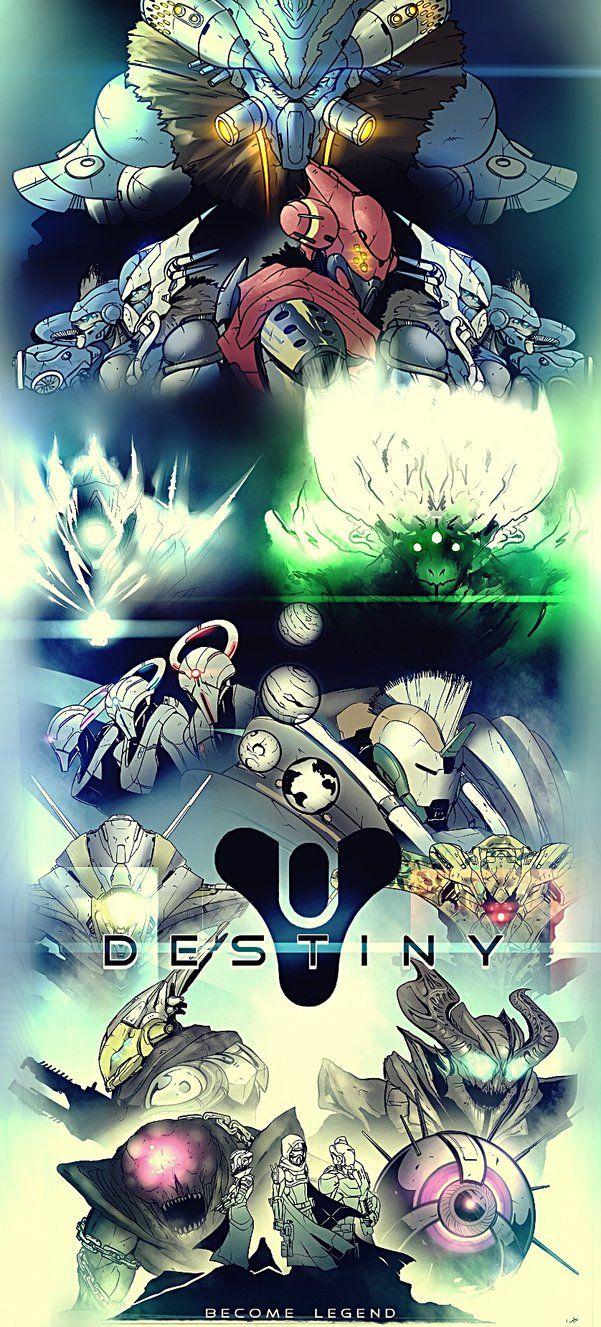 Destiny Masterpiece (Expanded) by Gary-Q.deviantart.com on @DeviantArt