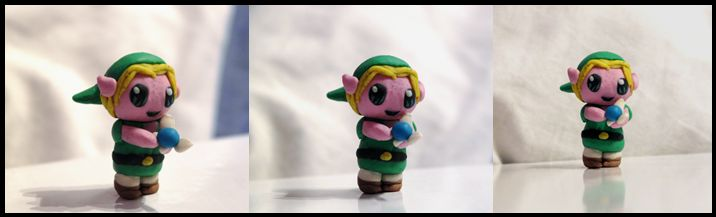 Chibi Link and his fairy :)