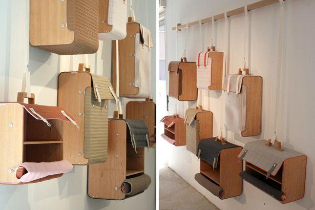 hanging suitcases | lottie lindeman