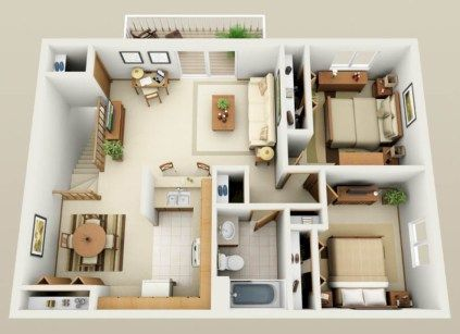 215 best Maisons - Plans 3D images on Pinterest Floor plans, House - logiciel dessin maison gratuit