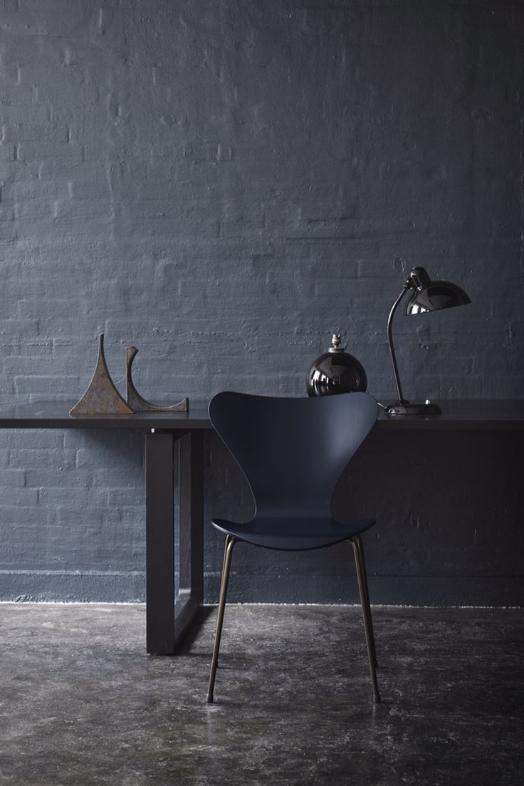 On my wishlist for 2015 - Arne Jacobsen Series 7 60th anniversary edition in dark blue
