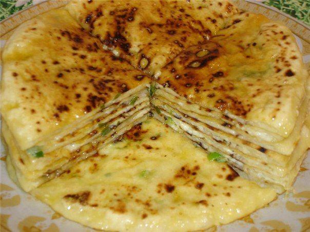 Блюдо нереально вкусное, главное - раскатывать потоньше. Это блюдо из чеченской кухни впервые когда приготовила.. всем моим очень понравилось, даже не ожидала легкое, не калорийное и вкусное блюдо.…