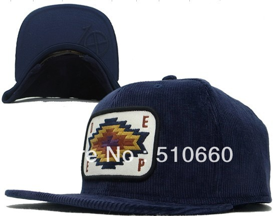 free shipping new arrival deep baseball caps hats corduroy blue brown extra crown