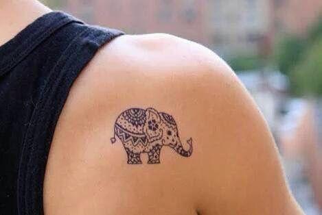 Cute little elephant                                                                                                                                                      More