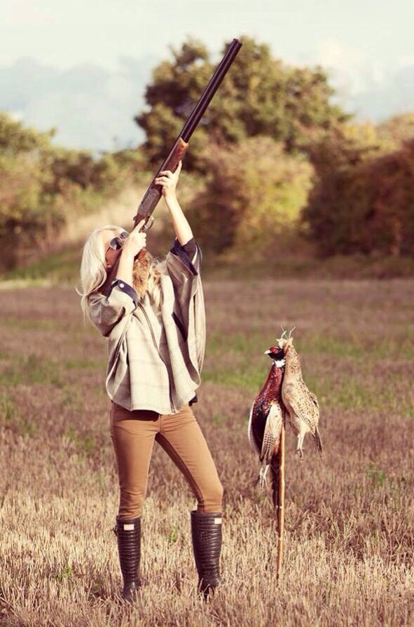 Hunting girls are the best girls