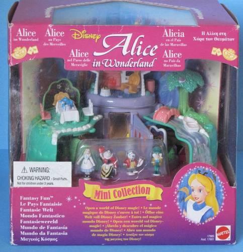 Vintage Polly Pocket Disney Alice in Wonderland Playset New in Box Mint | eBay
