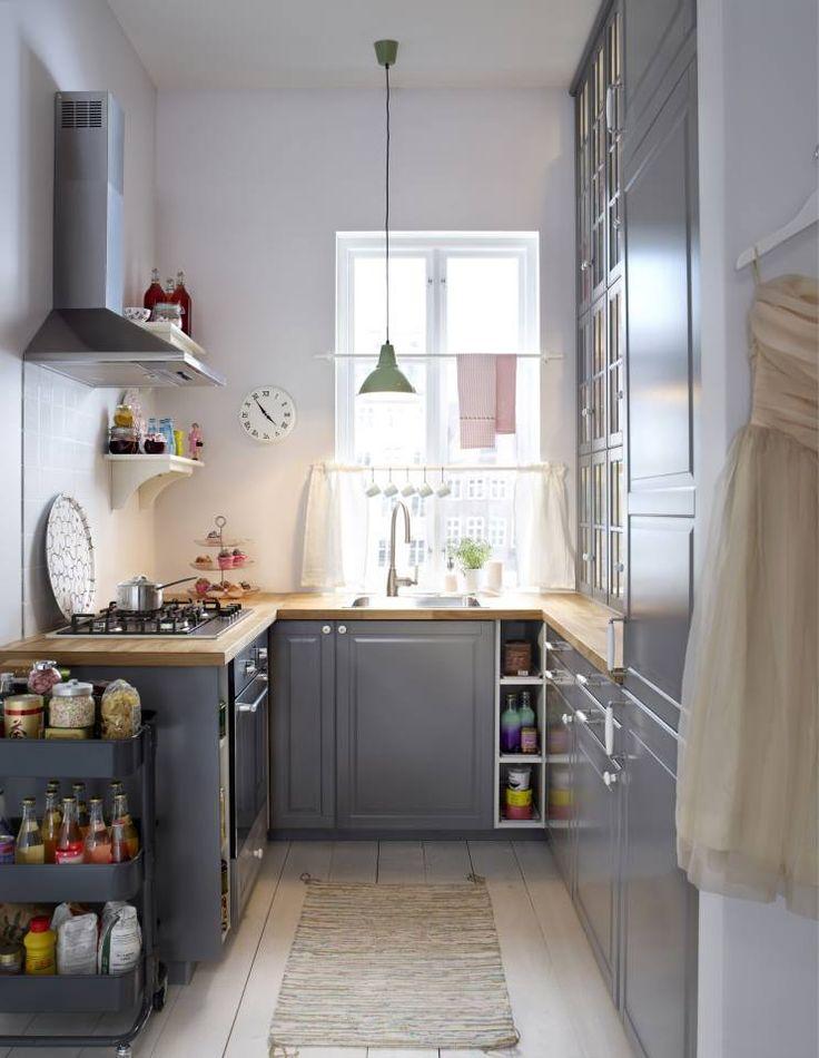 Keuken Licht Blauw : Blauw Keuken : Blauw grijze keuken #ikeawin keuken Pinterest Kitchens