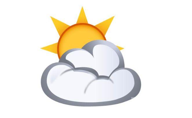 SUN BEHIND CLOUD  #emoji  https://www.emojimantra.com/