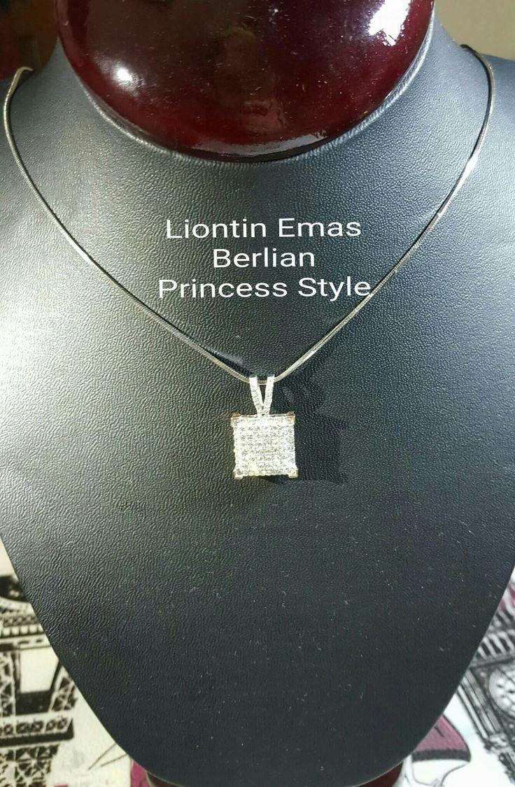 New Arrival🗼. Liontin Emas Berlian Princess Style💍💎.   🏪Toko Perhiasan Emas Berlian-Ammad 📲+6282113309088/5C50359F Cp.Dewi👩.  https://m.facebook.com/home.php  #investasi #diomond #gold #beauty #fashion #elegant #musthave #tokoperhiasanemasberlian