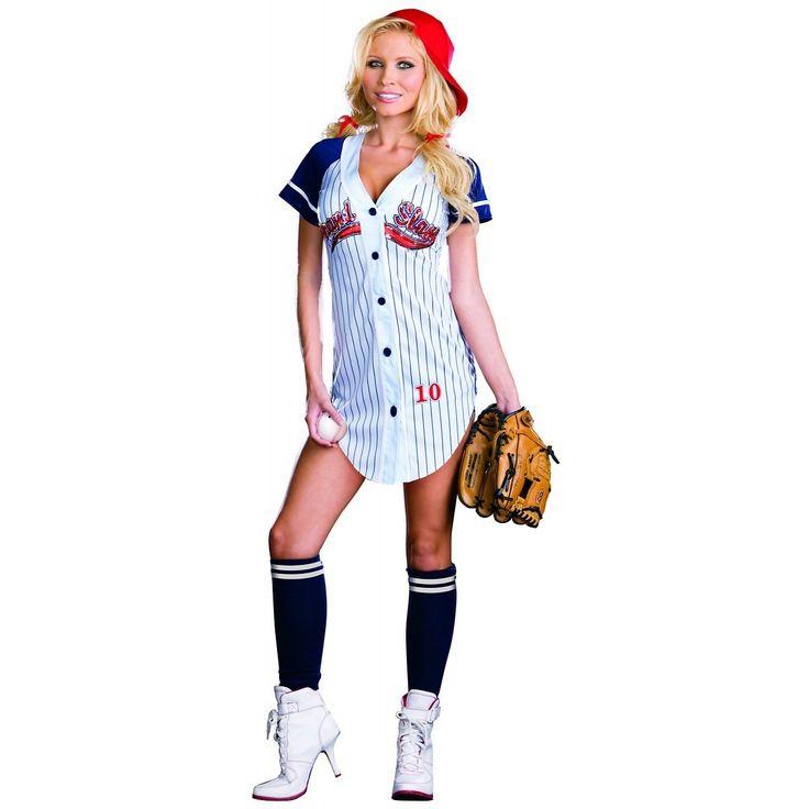 Sexy Grand Slam Baseball Player Adult Costume