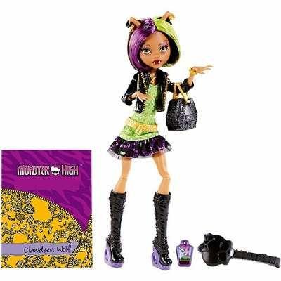 Boneca Monster High Foto De Terror Clawdeen Wolf Mattel - R$ 79,99 no MercadoLivre