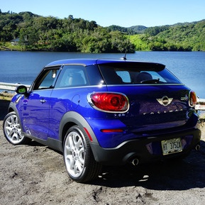 Mini Paceman - brilliant new expression of the brand