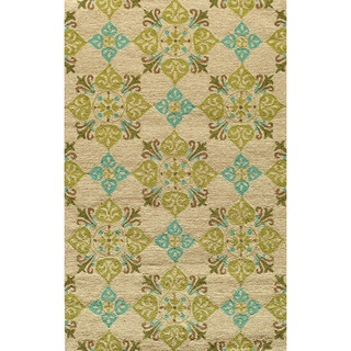 @Overstock - Elegant traditional designs and beautiful transitional motifs adorn these unique indoor/ outdoor rugs. The hand hooked construction in this 'South Beach' collection is durably outdoor-friendly.http://www.overstock.com/Home-Garden/Indoor-Outdoor-South-Beach-Sand-Medallions-Rug-50x80/6975570/product.html?CID=214117 $189.99
