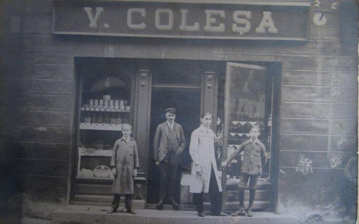 Colesa store in Kronstadt, Brasso, Brasov, today Romania