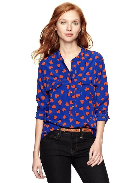 heart shirt from the gap... just in time for a casual valentine's?