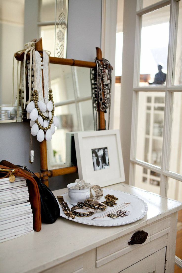 Organised jewellery Caitlin's Small, Stylish San Francisco Home House Tour   Apartment Therapy
