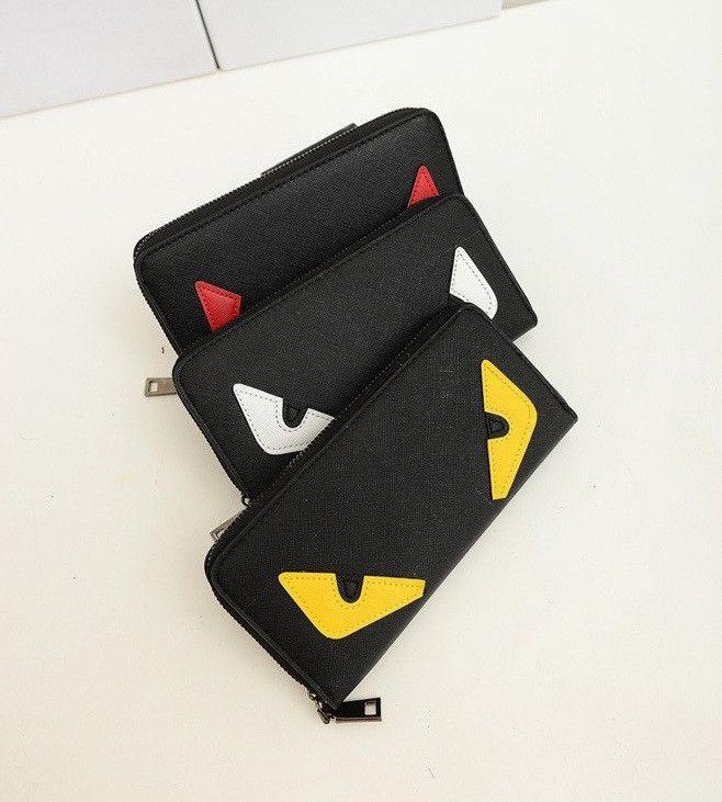Fendi Inspired Monster Wallet
