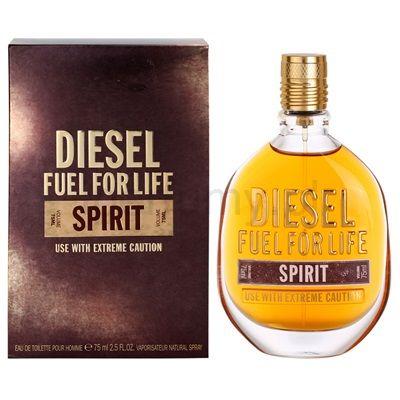 Diesel Fuel for Life Spirit, woda toaletowa dla mężczyzn 75 ml   iperfumy.pl