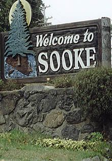 Welcome to Sooke, South Vancouver Island, BC.