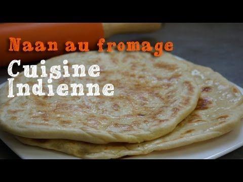 Cuisine indienne recette des naans au fromage