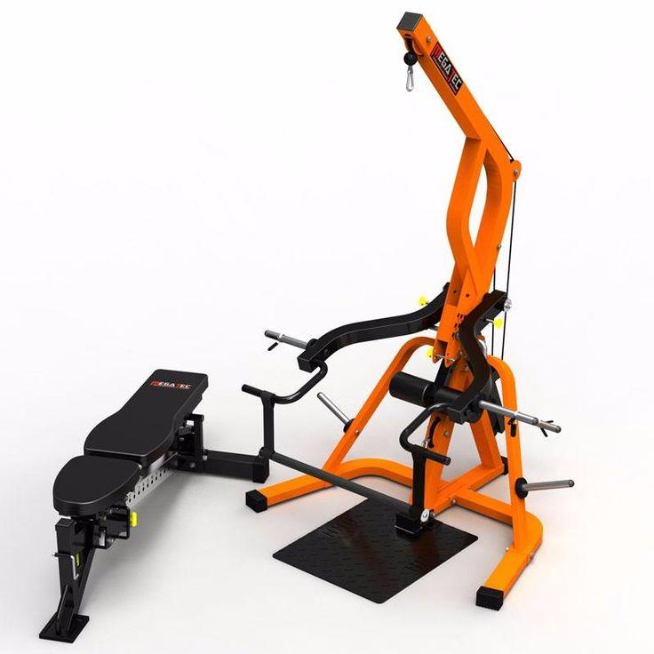 Die 25 besten ideen zu maquinas para gym auf pinterest - Maquinas para gimnasio en casa ...