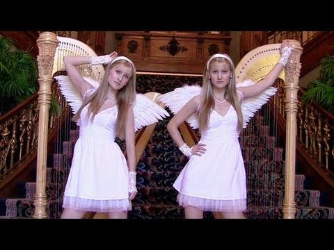 Harp Duet of STAIRWAY TO HEAVEN ~ By Led Zeppelin ~ Covered by Harp Twins Camille and Kennerly