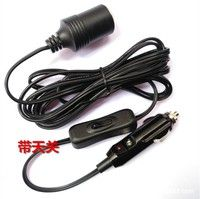 1. 12 foot heavy duty extension cord, freely used it to plugs into any vehicle 12 volt socket. 2. Wo