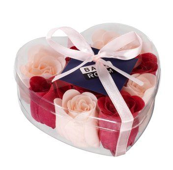 Saippua ruusunmuoto 9 kpl/pkt pinkki 3.99€/pkt