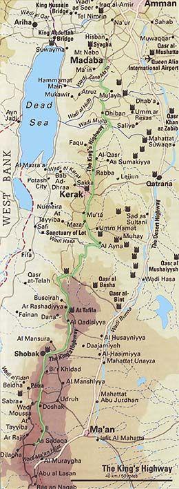 The King's Highway - Jordan
