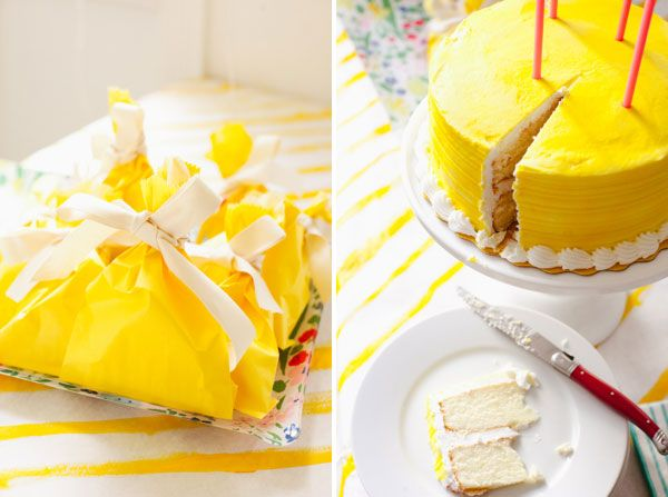 Yellow Party | Whip up party in a couple of hours!