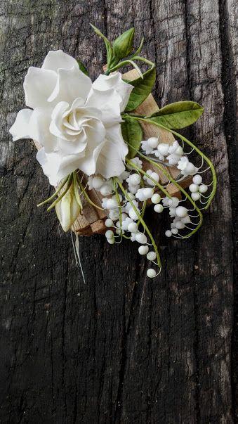Gardenia a konvalinky