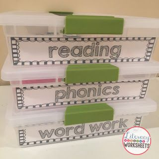 Get started with literacy work stations!  Lots of organizational tips and ideas and activities for literacy work stations.