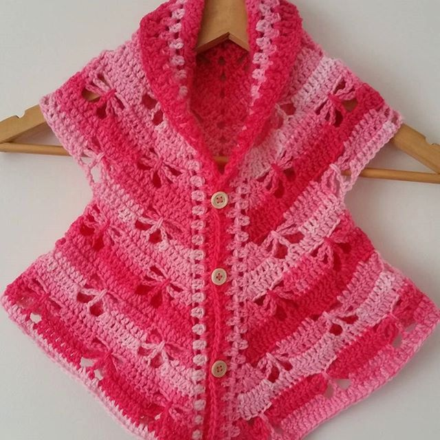 PDF Butterfly Cardigan Crochet Pattern by Addicted2theHook