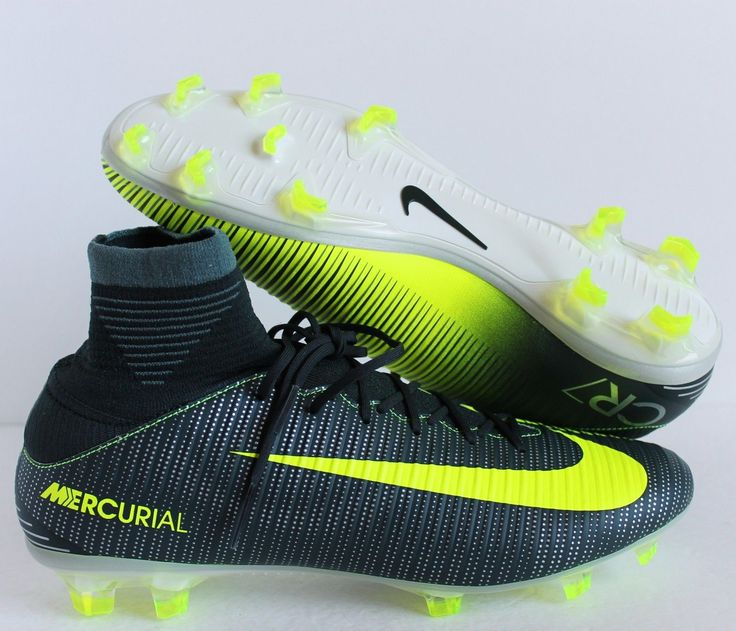 competitive price a14c9 5768b ... NIKE MERCURIAL VELOCE III DF CR7 FG SOCCER CLEATS SZ 9 852518-376 ...