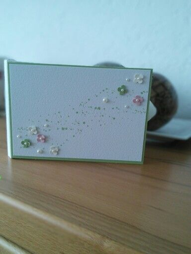 Front of a Wedding Box Stampin Up Itty Bitty, Gorgeous Grunge