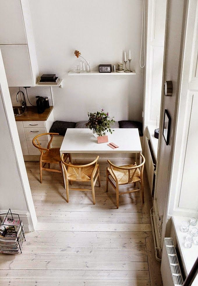 OHM: Small Spaces : Idea for your dinning room.