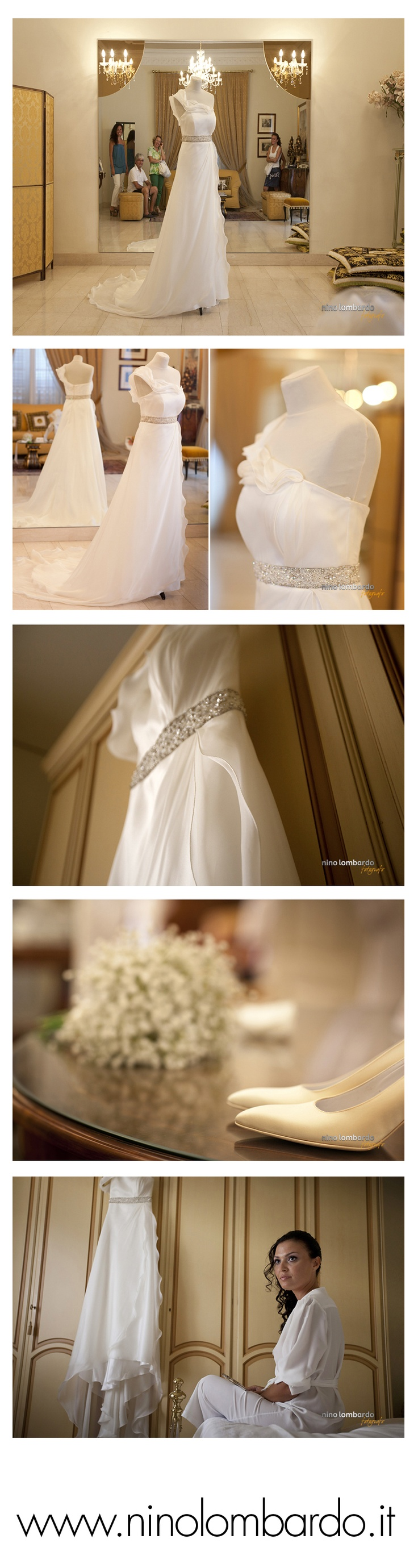 The preparations for the wedding | The wedding dress  © www.ninolombardo.it