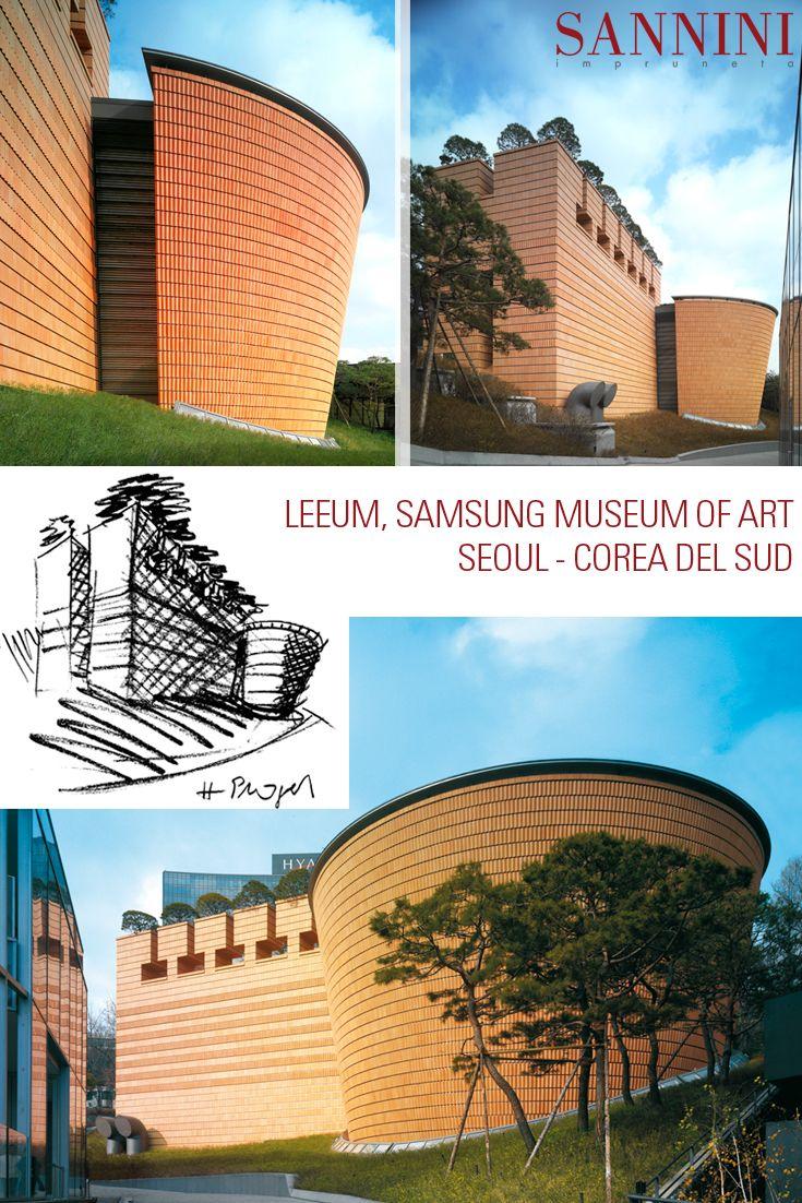 Project: LEEUM, SAMSUNG MUSEUM OF ART Mario Botta, is the designer for Leeum, Samsung ... continue: http://www.sannini.it/news-single-019- en.html LEEUM IL MUSEO DELL'ARTE SAMSUNG A SEOUL Mario Botta, uno dei più carismatici professionisti dell'Architettura Internazionale è il progettista del Leeum Samsung ... continua: http://www.sannini.it/news-single-019.html #architettura #facciateventilate #facciate #paretifrangisole #samsung #terracotta