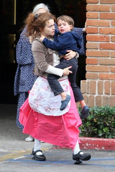 Helena Bonham Carter and Billy Ray Burton Photos - Helena Bonham Carter And Son Out In Malibu - Zimbio