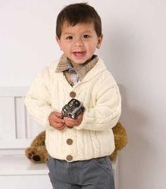 Кардиган для мальчика - схема вязания спицами. Вяжем Кардиганы на Verena.ru