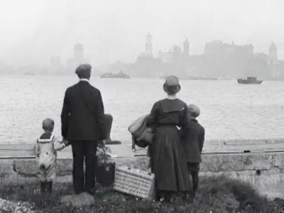 Ellis Island. The view of a dream...