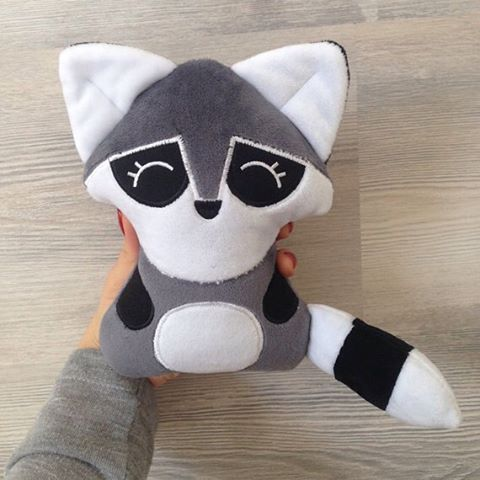 Rocky the Raccoon plush toy soft and cuddly present for your loved ones! order now through etsy or whatsapp✨ links in bio☝️ worldwide shipping  #toys #toy #plush #stuffed #belgium #world #europe #followme #follow4follow #f4f #l4l #like #like4like #likeforlikes #likeforfollow #instadaily #smile #raccoon #animal