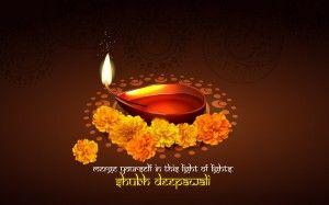 Best Wishes For Diwali Celebration HD Wallpaper!!