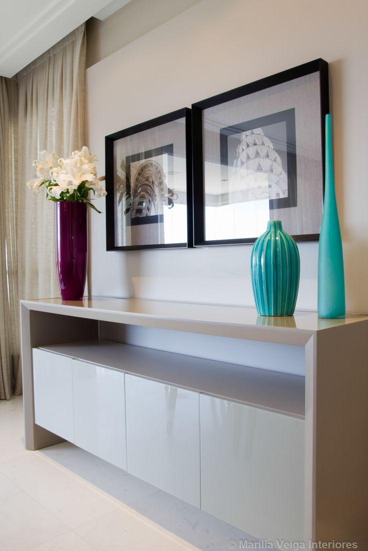 Decoração de Interiores em Apartamento Parque dos Príncipes - Decoradora Marilia Veiga