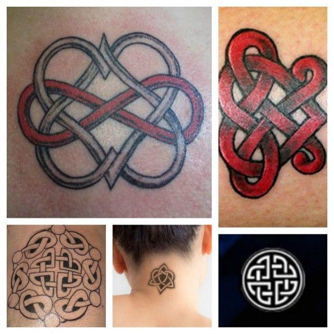 Il nodo Celtico dell Amante Tatuaggio con significato Amore