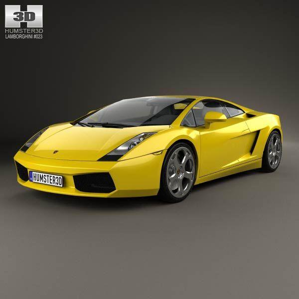2011 Lamborghini Gallardo Exterior: 41 Best Lamborghini 3D Models Images On Pinterest